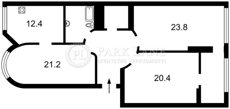 Квартира ул. Завальная, 10в, Киев, J-29896 - Фото 2