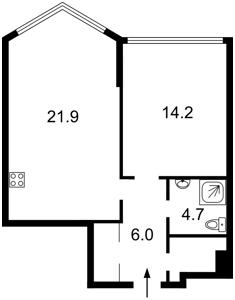 Квартира L-28307, Вышгородская, 45, Киев - Фото 5