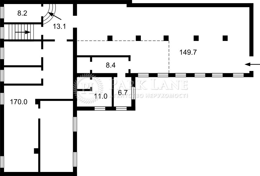 Нежитлове приміщення, B-102236, Верхній Вал, Київ - Фото 1