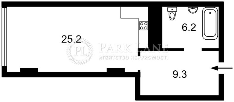 Квартира ул. Тимошенко Маршала, 21/19, Киев, K-31628 - Фото 2
