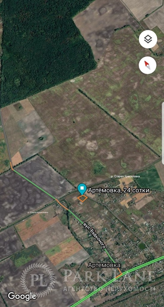 Земельный участок Артемовка, N-22883 - Фото 1
