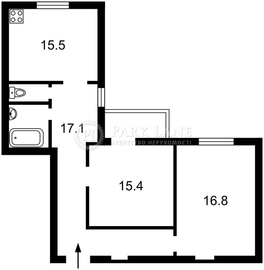 Квартира ул. Саксаганского, 129а, Киев, D-37206 - Фото 2