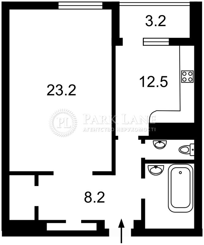 Квартира Науки просп., 30, Киев, B-102727 - Фото 2