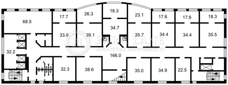 Нежилое помещение, ул. Ярославская, Киев, B-102676 - Фото 2
