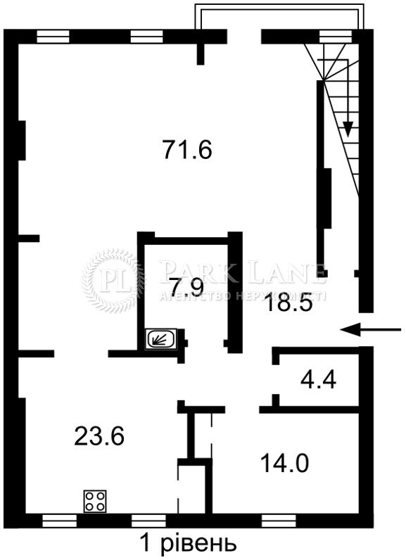 Квартира Бехтеревский пер., 13а, Киев, I-33341 - Фото 2