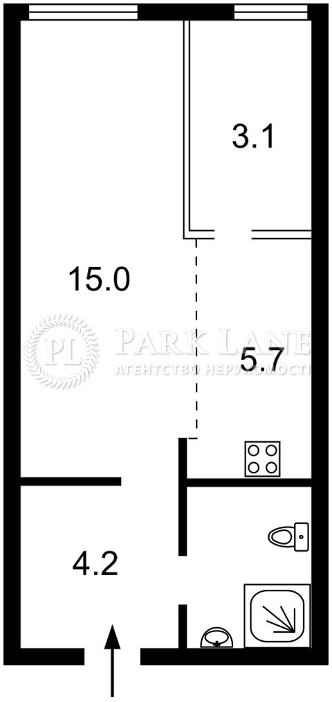 Квартира Z-804538, Соборности просп. (Воссоединения), 17 корпус 2, Киев - Фото 3