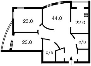Квартира B-69809, Тургеневская, 28а/30а, Киев - Фото 3