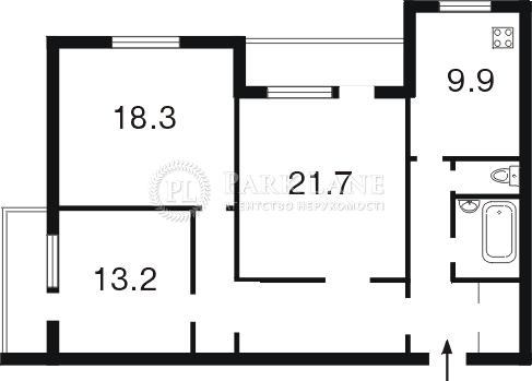 Квартира B-81606, Богатирська, 6/1, Київ - Фото 4