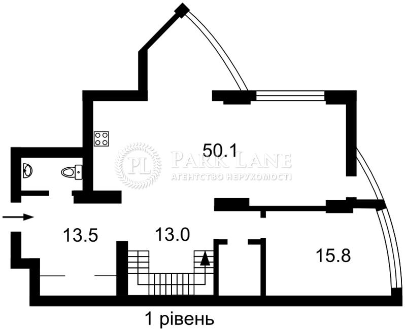 Квартира ул. Глубочицкая, 32б, Киев, Z-1891919 - Фото 2