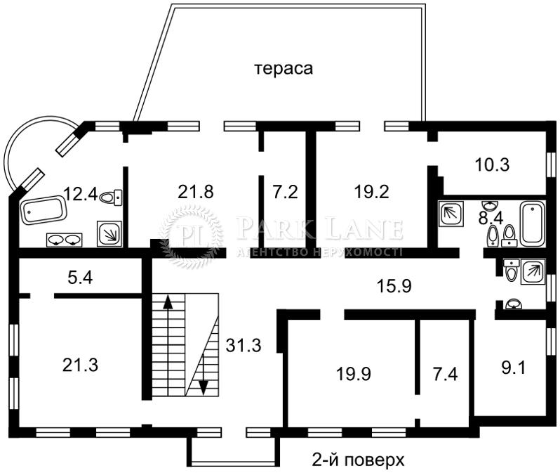 Дом ул. Гагарина, Вишенки, L-22985 - Фото 3