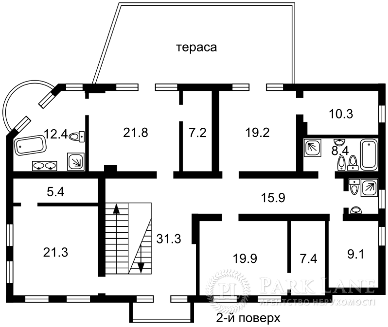 Дом ул. Гагарина, Вишенки, L-22995 - Фото 3