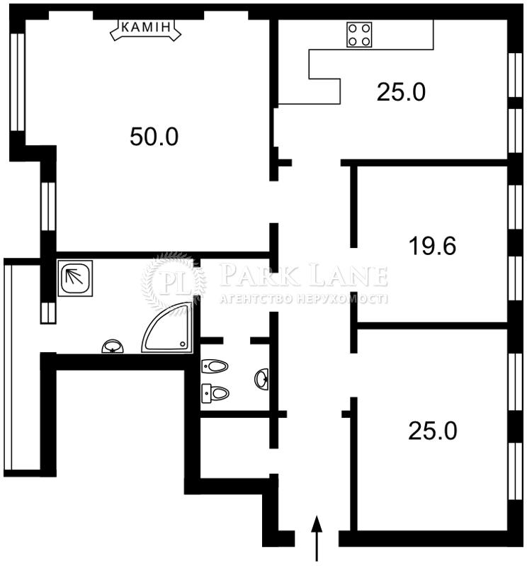 Квартира ул. Пушкинская, 45/2, Киев, J-11318 - Фото 2