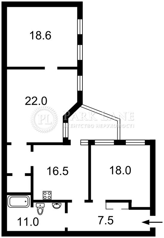 Квартира ул. Петлюры Симона (Коминтерна), 18, Киев, I-24977 - Фото 2