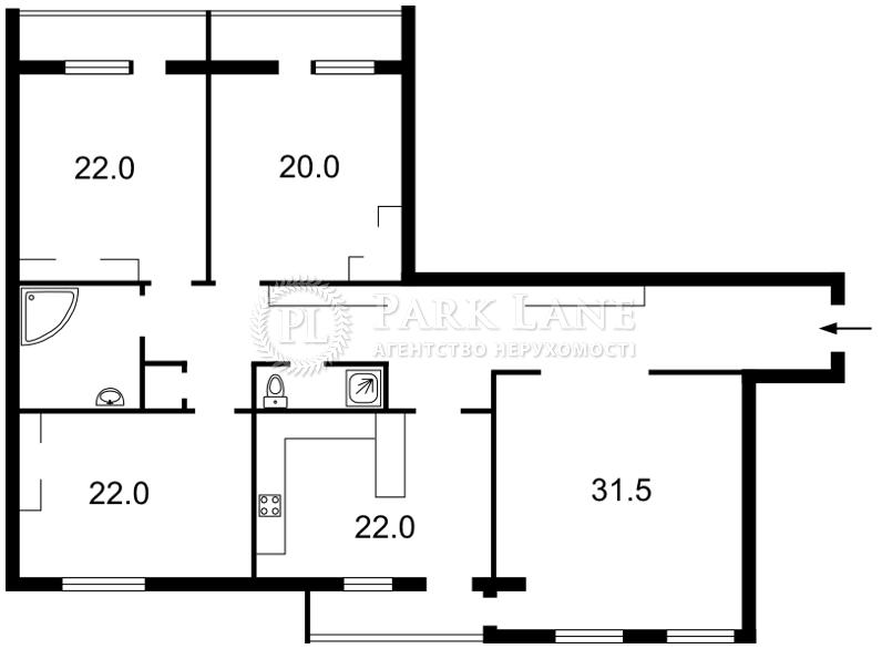 Квартира L-12128, Героев Сталинграда просп., 6, Киев - Фото 4