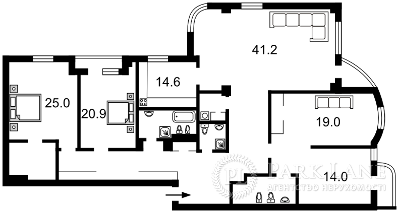 Квартира ул. Зверинецкая, 59, Киев, R-1151 - Фото 2