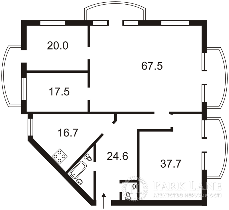 Квартира ул. Антоновича (Горького), 140, Киев, G-1262 - Фото 2