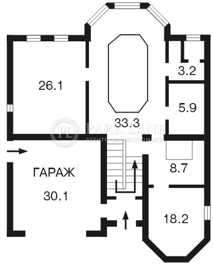 Дом Петропавловская Борщаговка, F-18481 - Фото 1