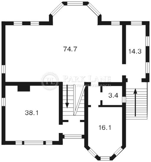 Дом Петропавловская Борщаговка, F-18481 - Фото 2