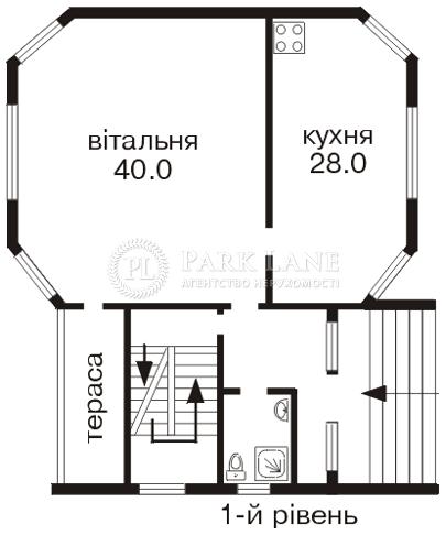 Дом ул. Дачная, Софиевская Борщаговка, C-88881 - Фото 2
