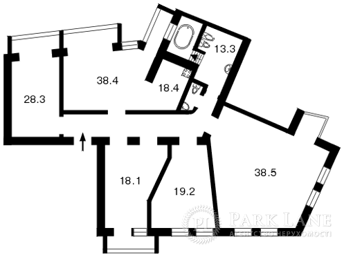 Квартира ул. Обсерваторная, 10, Киев, F-18718 - Фото 2