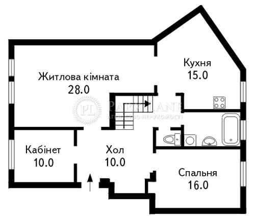 Квартира ул. Грушевского Михаила, 9, Киев, B-76369 - Фото 2