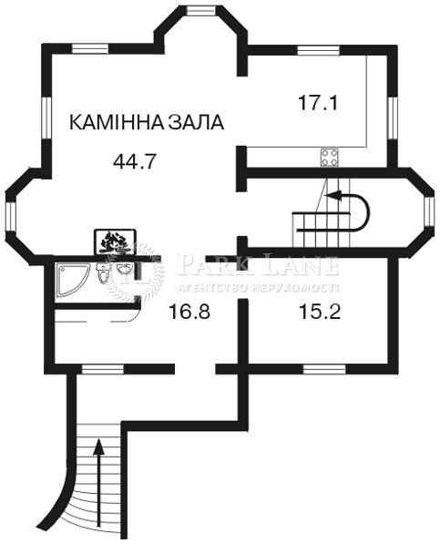 Дом Петропавловская Борщаговка, C-89397 - Фото 1