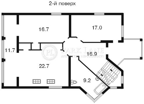 Дом ул. Зверинецкая, Киев, C-81087 - Фото 4
