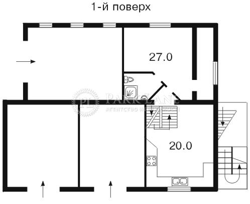 Будинок Лермонтова пров.1-й, Київ, F-21154 - Фото 2