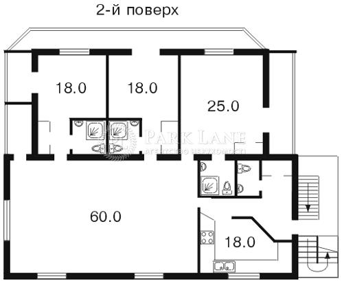 Будинок Лермонтова пров.1-й, Київ, F-21154 - Фото 3