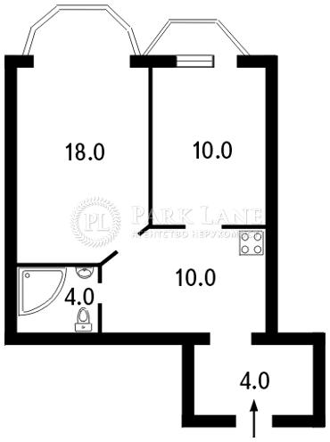 Квартира ул. Волошская, 51/27, Киев, J-11847 - Фото 2