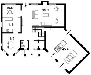 Дом N-5349, Новые Безрадичи - Фото 1