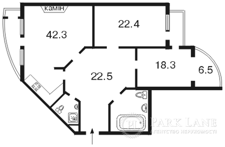 Квартира Лесі Українки бул., 7б, Київ, A-95958 - Фото 2