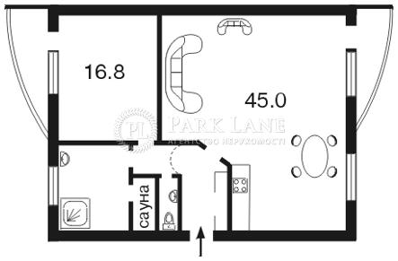Квартира ул. Назаровская (Ветрова Бориса), 11, Киев, C-91515 - Фото 2