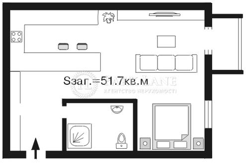 Квартира ул. Шелковичная, 18а, Киев, A-82029 - Фото 2
