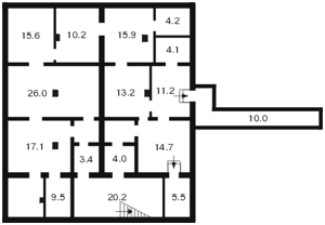 Нежитлове приміщення, I-9585, Бульварно-Кудрявська (Воровського), Київ - Фото 2