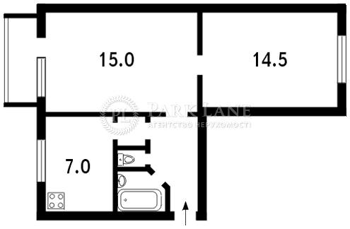 Квартира ул. Красиловская, 2/3, Киев, N-6082 - Фото 2