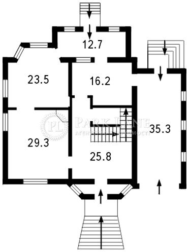 Дом ул. Каштановая, Софиевская Борщаговка, L-11559 - Фото 2