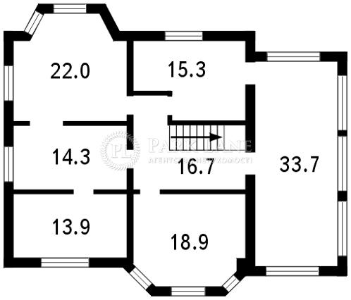 Дом ул. Каштановая, Софиевская Борщаговка, L-11559 - Фото 3