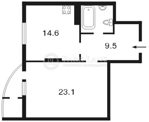 Квартира Леси Украинки бульв., 7б, Киев, Z-739317 - Фото 2