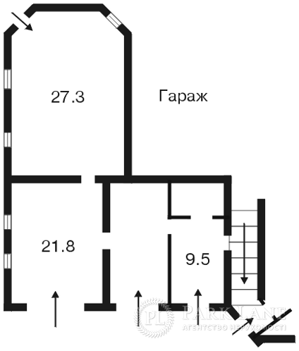 Дом Петропавловская Борщаговка, Z-761244 - Фото 7
