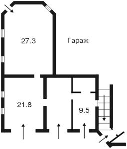 Будинок Z-761244, Петропавлівська Борщагівка - Фото 8
