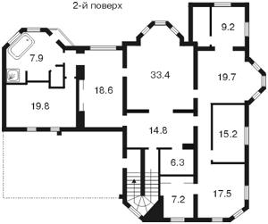 Будинок Z-761244, Петропавлівська Борщагівка - Фото 6