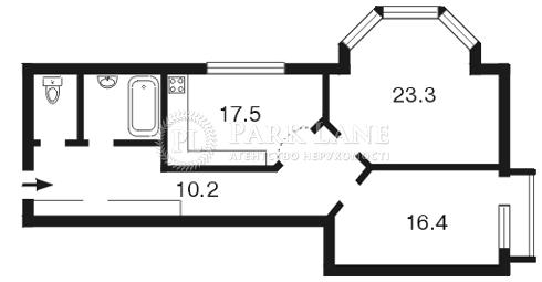 Квартира Кудрявский спуск, 3а, Киев, Z-779268 - Фото 2