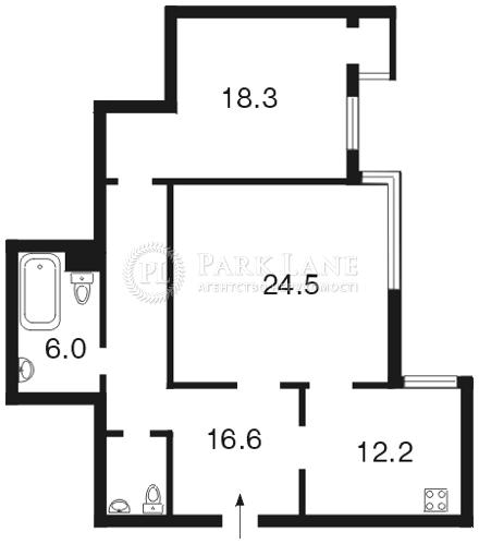 Квартира Лобановского просп. (Краснозвездный просп.), 6д, Киев, I-14878 - Фото 2