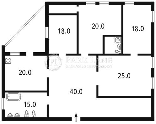 Квартира ул. Металлистов, 11а, Киев, L-12730 - Фото 2