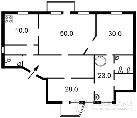 Квартира ул. Городецкого Архитектора, 11б, Киев, G-12026 - Фото 2