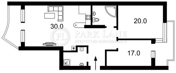 Квартира ул. Окипной Раиcы, 18, Киев, Z-817080 - Фото 2