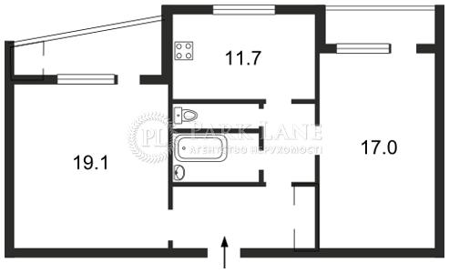 Квартира ул. Тимошенко Маршала, 15г, Киев, Z-599378 - Фото 2