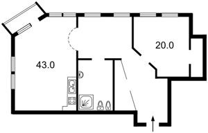 Квартира J-15183, Городецкого Архитектора, 10/1, Киев - Фото 4