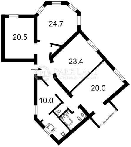 Квартира ул. Коцюбинского Михаила, 2, Киев, F-8985 - Фото 2